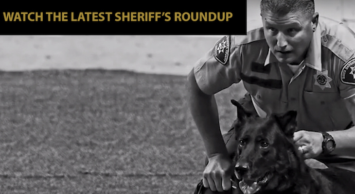 New Sheriff's Roundup Video title=