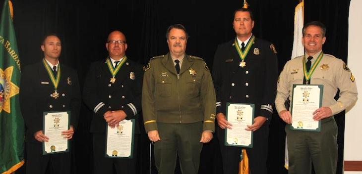 Sheriff Honors Employees for Exemplary Service title=
