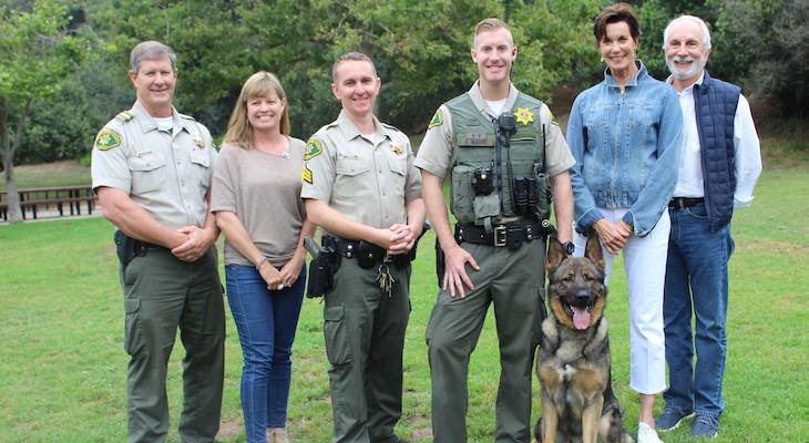 Meet New K9 Team: Deputy Moore and Chop title=