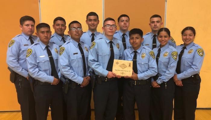 Santa Maria Police Explorers Earn Competition Award