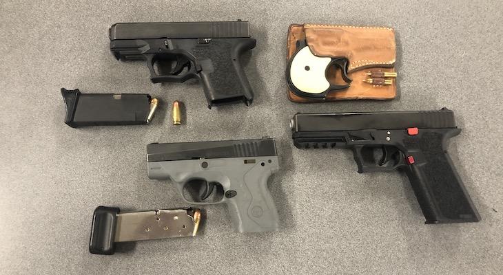 Santa Maria Police Seize Guns During Search Warrant