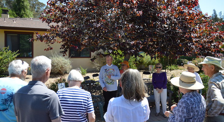 Valle Verde Becomes Monarch Waystation title=