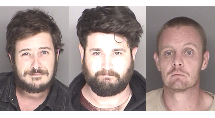 Sheriff's Deputies Arrest Three Alleged Graffiti Vandals title=