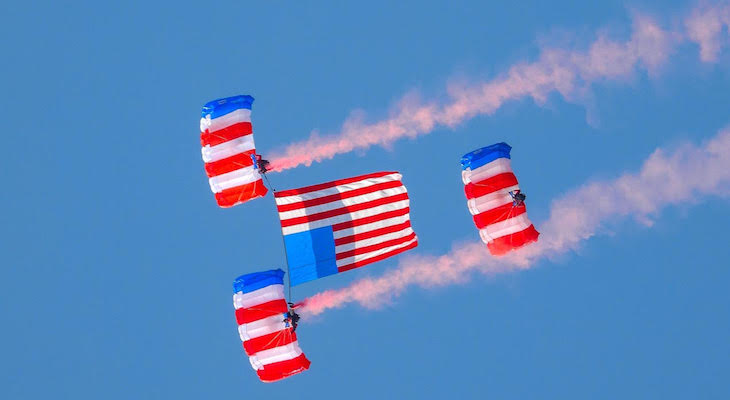 Santa Barbara Honors Veterans Day