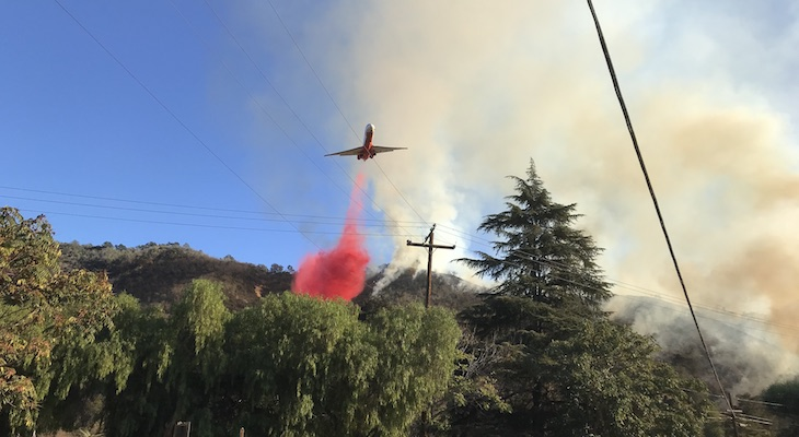 Vista Fire is 50% Contained at 87 Acres