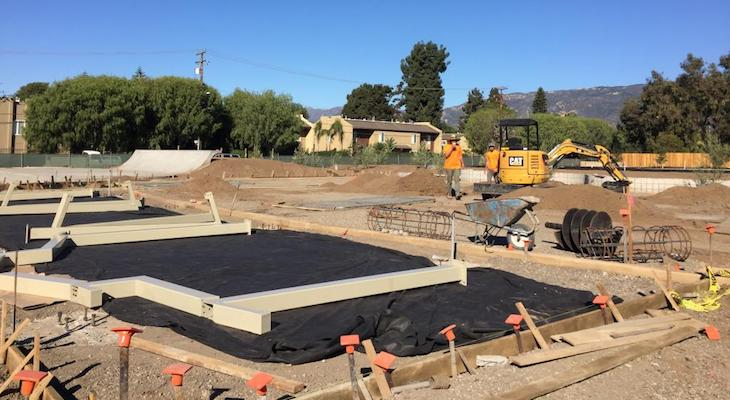 Construction in Progress for Goleta's New Park title=