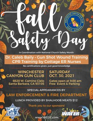 Fall Safety Day at Winchester Canyon Gun Club title=