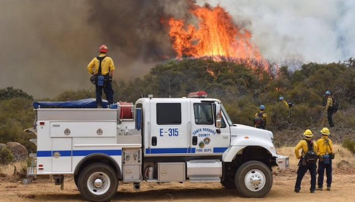 Whittier Fire Now 100% Contained
