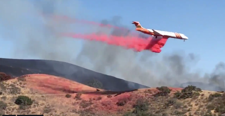 Windmill Fire Now at 100 Acres, Evacuation Warning Stands