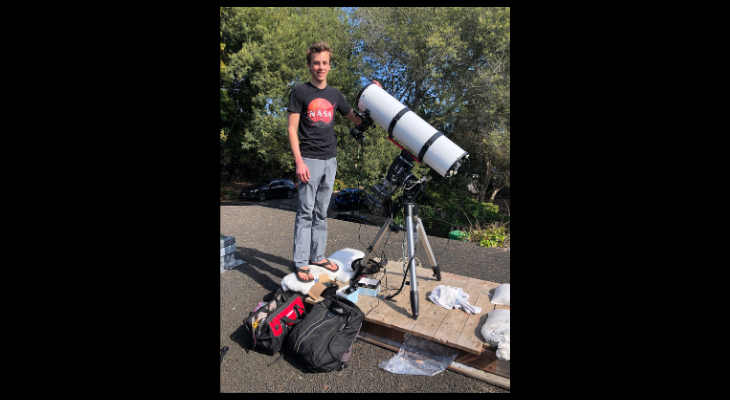 Local Youth Wins Honors in Astrophotography Competition