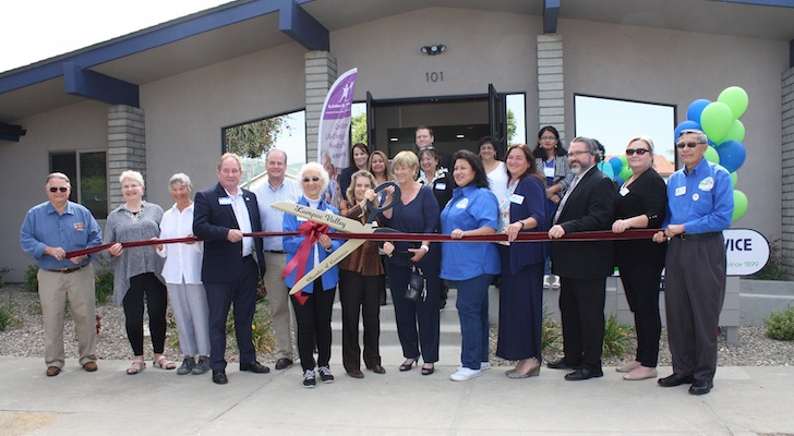 Family Service Agency Cuts Ribbon At New Lompoc Location