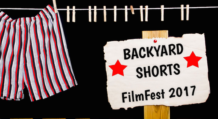Backyard Shorts FilmFest Deadline