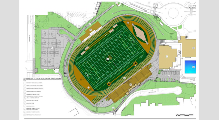 AMG & Associates Awarded Construction Contract for the SB High School Peabody Grandstand Replacement, Stadium Renovation, and Site Utilities Upgrade Project