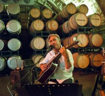 John Lyle at Carr Winery