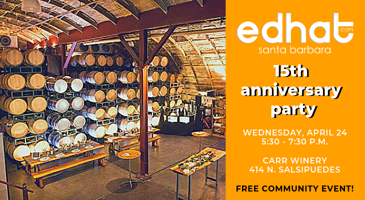 Edhat's 15th Anniversary Party!