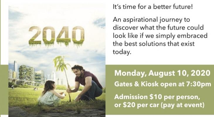 SB Permaculture Network Eco Film Night Series 2040 Film Premiere