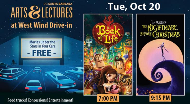 FREE Drive-In Movies: The Book of Life & The Nightmare Before Christmas