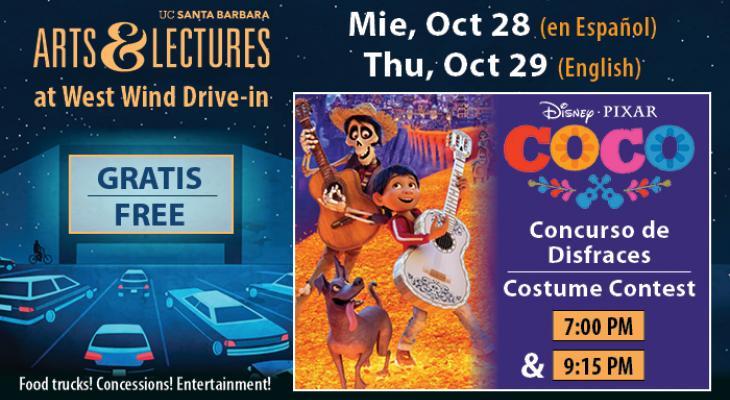 Free Drive-In Movie & Costume Contest: Coco