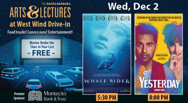 FREE Drive-In Movies: Whale Rider & Yesterday