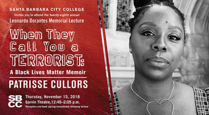 SBCC Dorantes Memorial Lecture featuring Patrisse Cullors