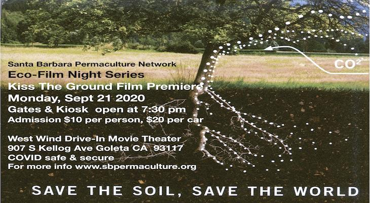 Eco-Film Nights at the Drive-In with Kiss the Ground Film Premiere