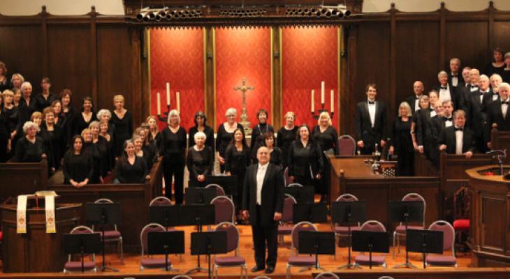 Santa Barbara Master Chorale sings Samson