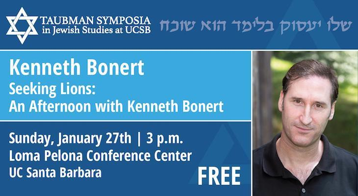 Seeking Lions: An Afternoon with Kenneth Bonert