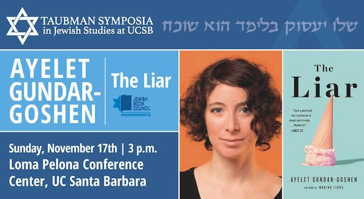 "Lecture by Ayelet Gundar-Goshe, Author of ""The Liar"""