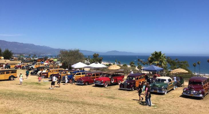 17TH ANNUAL WOODIES AT THE BEACH
