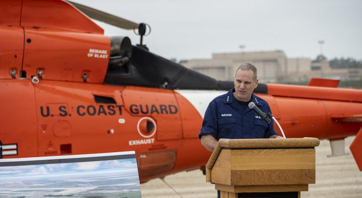 Coast Guard Breaks Ground on New Air station in Ventura