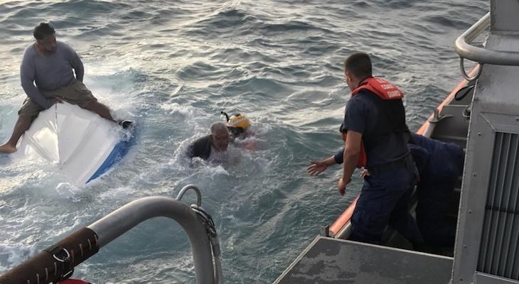 Coast Guard Rescues 3 People Near Anacapa Island