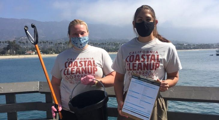 Santa Barbara County Cleans Up During Coastal Cleanup Month