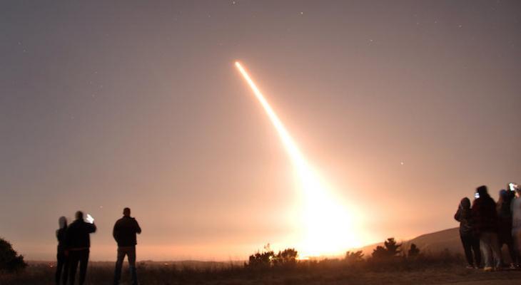 Vandenberg Test Launches Unarmed Minuteman III