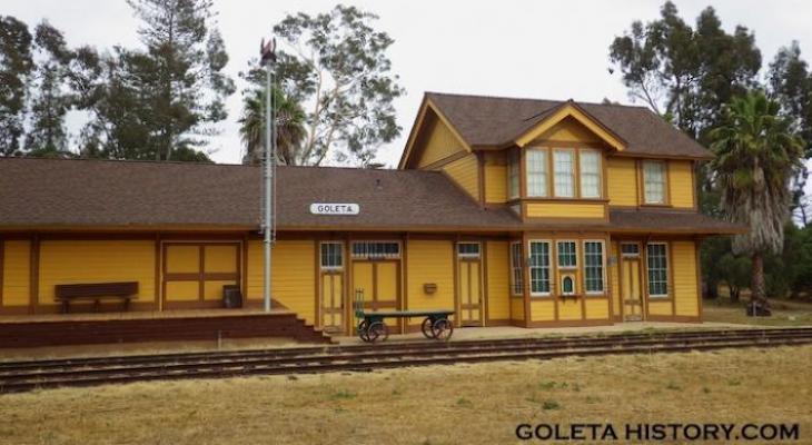 The History of the Goleta Train Depot