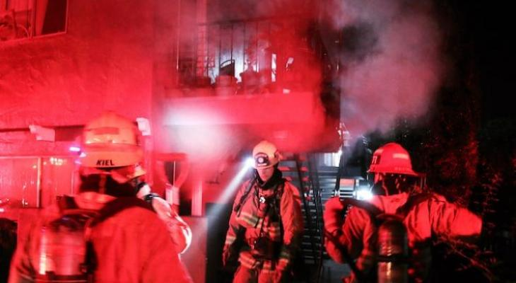 Wall Heater Causes Early Morning Apartment Fire