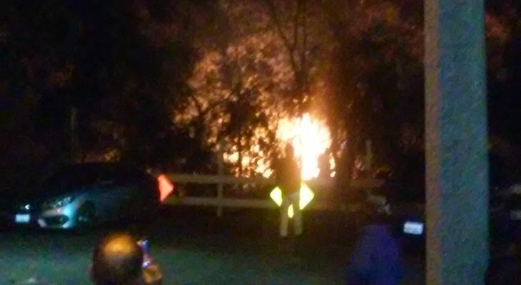 San Jose Creek Fire