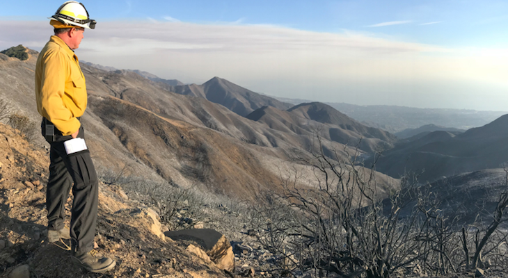 Los Padres Officials Lift Thomas Fire Closure Order