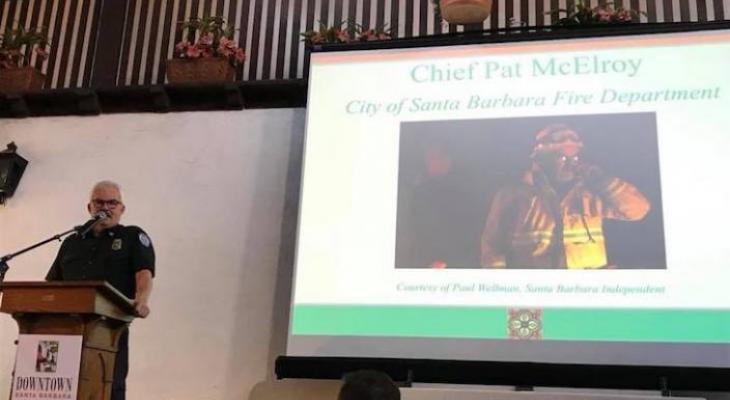 Fire Chief Honored as Citizen of the Year