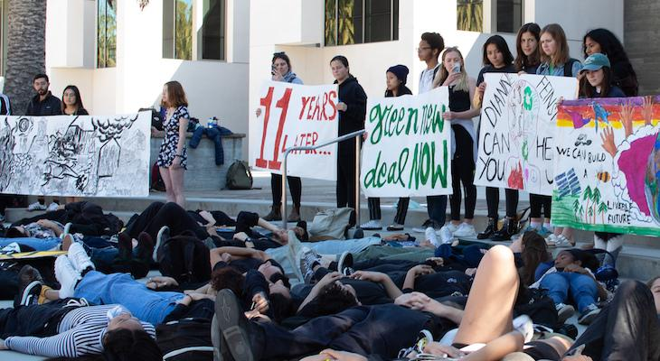 UCSB Joins Global Student Climate Strike
