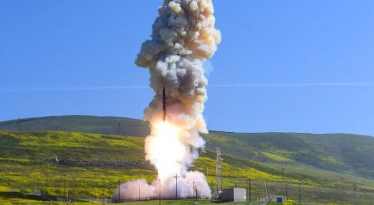 Missile Defense Holds Test from Vandenberg AFB Monday