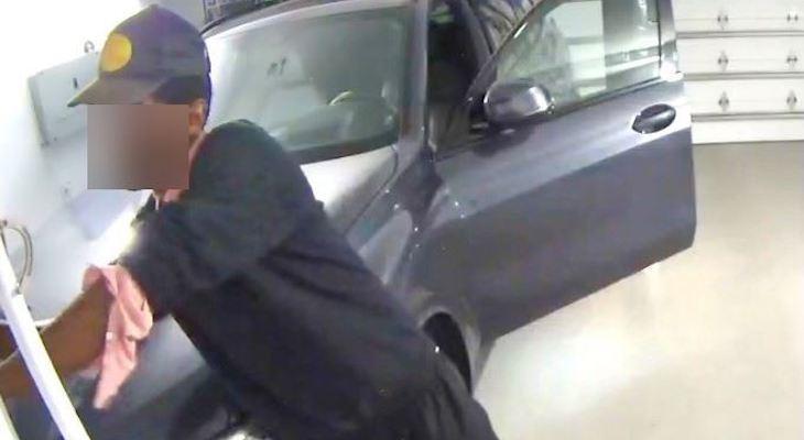 Car Thief Arrested During Shoreline Drive Burglary