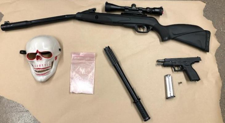 Armed Felon Arrested Twice Within Three Days