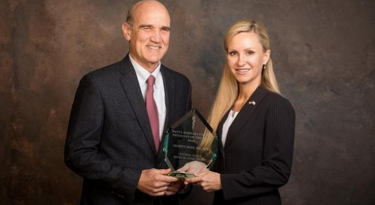 Dr. Dean Named Santa Barbara County Physician Of The Year