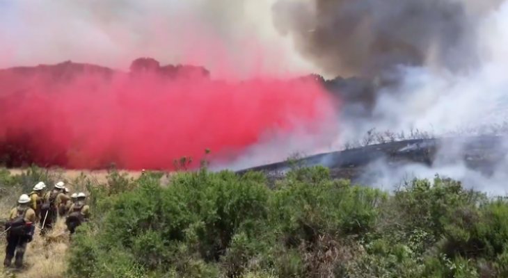 Cruces Fire Now 40% Contained at 80 Acres