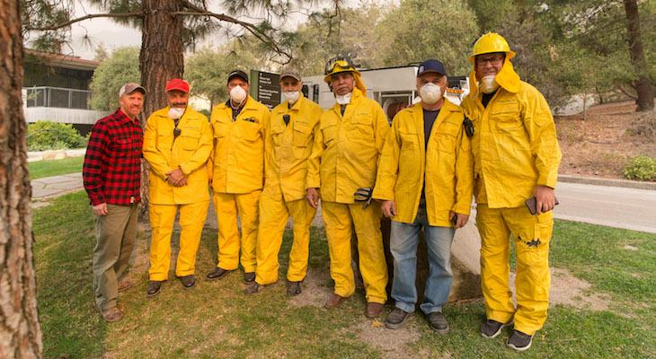 Westmont Fire Brigade Activated for Thomas Fire
