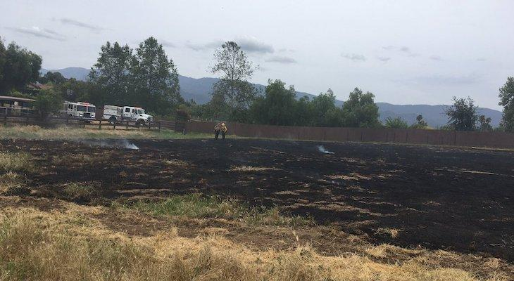Brush Fire Contained to 2 Acres in Santa Ynez