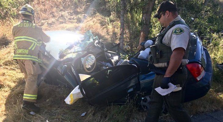 Woman Suffered Major Injuries in Solvang Car Crash