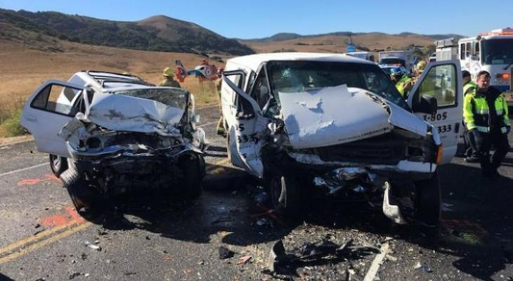 Woman and Dog Die in Head-on Highway 1 Collision