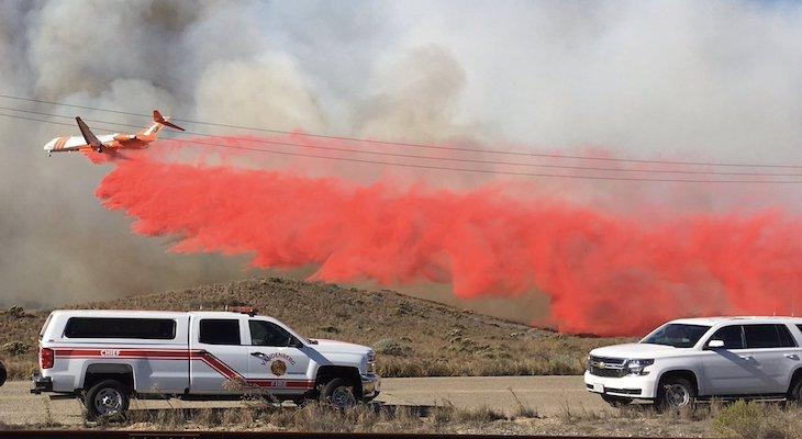 Brush Fire 50% Contained on Vandenberg Air Force Base