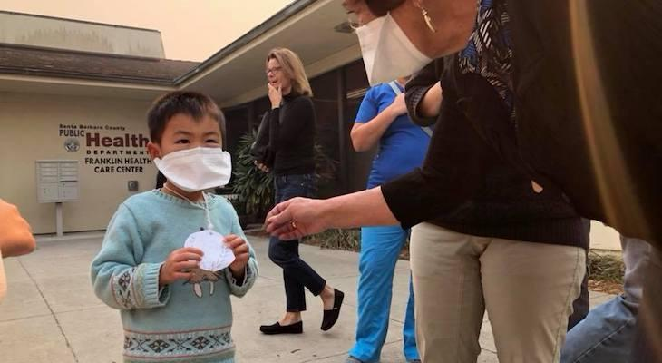 Respirator Masks Distributed By Public Health